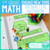 4th Grade Math Engage New York Aligned Interactive Notebook: Module 2