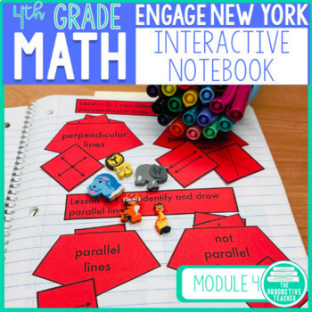Engage New York Math Aligned Interactive Notebook: Grade 4, Module 4