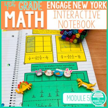 4th Grade Interactive Math Notebook: Engage NY Module 5