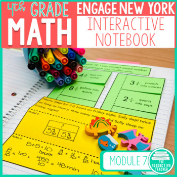 Engage New York Aligned Interactive Notebook: Grade 4, Module 7