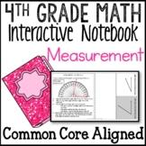 Measurement and Data Interactive Math Notebook 4th Grade Common Core