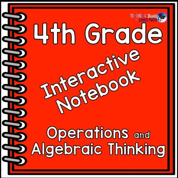 Interactive Math Notebook 4th Grade Algebraic Thinking Com