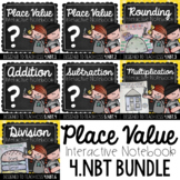 4th Grade Interactive Notebook - Place Value {4.NBT Growing Bundle}