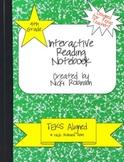 4th Grade Interactive Reading Notebook - TEKS Aligned