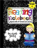 4th Grade Interactive Reading Notebook (aligned with Common Core)