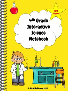4th Grade Interactive Science Notebook Kit - TEKS Aligned