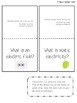 4th Grade Interactive Science Notebook for Electrical Char