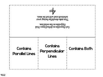 4th Grade Interactive Student Notebook {Geometry: Common Core}