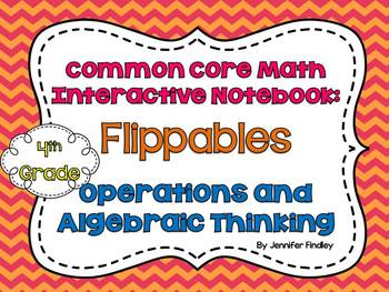 4th Grade Interactive Student Notebook {Operations and Alg