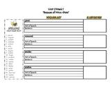 4th Grade Interactive Vocabulary/Spelling Notebook