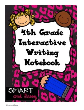 4th Grade Interactive Writing Notebook TEKS Aligned
