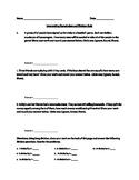 4th Grade Interpreting Remainders and Division Quiz