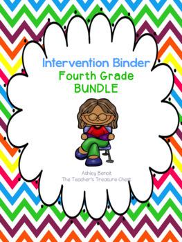 4th Grade Intervention Binder Bundle