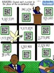4th Grade January Winter QR Code Printables - Low Prep!