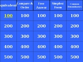 4th Grade Jeopardy Game Benchmark