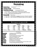 4th Grade Journey Unit 1 Lesson 5 -- Stormalong -- Letter to Parents
