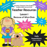 4th Grade Journeys (2014) PowerPoint Lessons & More Unit 1 Lesson 1