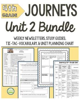 4th Grade Journeys Unit 2 BUNDLE of Resources