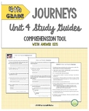 4th Grade Journeys, Unit 4 Study Guide Comprehension Questions