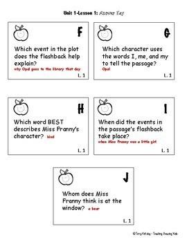 4th Grade Journeys:  Comprehension