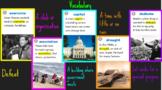 """4th Grade Journeys Lesson 19 """"Harvesting Hope"""" Google Slides"""