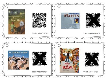 4th Grade Journeys QR Codes for Listening Centers