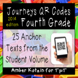 4th Grade Journeys QR Codes for Listening Centers
