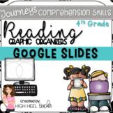 4th Grade Journeys   Reading Skills Graphic Organizers   GOOGLE™ SLIDES  