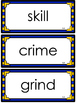 4th Grade Journeys Spelling Words~ Large Wall Cards~ All Lessons (Royal & Gold)