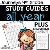 4th Grade Journeys Study Guide Comprehension Questions BUN