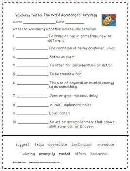 4th Grade Journeys: Unit 5 Supplemental Activities