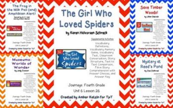 4th Grade Journeys: Unit 6 Supplemental Activities