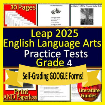 4th Grade LEAP 2025 Test Prep - Practice Tests - English ...