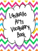 4th Grade Language Arts Test Prep Vocabulary Book