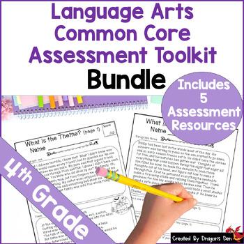 4th Grade Language Arts Common Core Documentation Bundle
