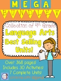 4th Grade Language Arts MEGA Bundle of Skill-Based Units
