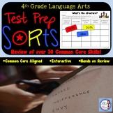 4th Grade Language Arts Quick Sorts for Common Core!