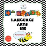 4th Grade Language Arts and Grammar BUNDLE