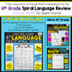 4th Grade Language Assessments | 4th Grade Grammar Quizzes