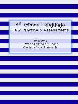 4th Grade Language Daily Practice and Assessment