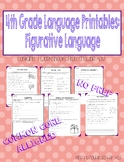 4th Grade Language Printables: Figurative Language