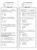 4th Grade Language Review BUNDLE