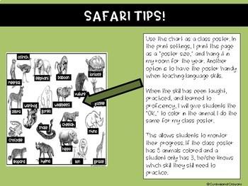 4th Grade Language Safari Expedition