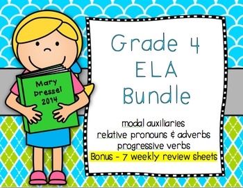 4th Grade Language Skills Bundle