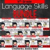 4th Grade Language Skills Bundle- Conventions of Standard English