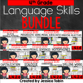 4th Grade Language Skills Bundle- Conventions of Standard English