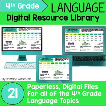 4th Grade Language Standards Digital Resource Library