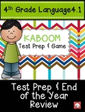 4th Grade Language Test Prep & End of the Year Review