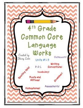 4th Grade Language Works Bundle 1