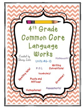 4th Grade Language Works Bundle 2